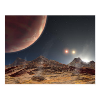 HD188753 Three suns NASA Postcard