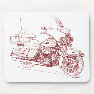 HD Electra Glide Classic 2010 Mouse Pad