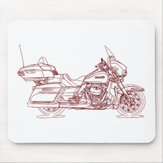 HD ElectraUltraGlideClassic 2017 Mouse Pad