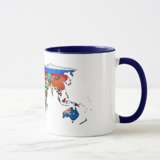 HD World Flags Mug