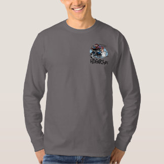 HDBitchin Logo Basic Long Sleeve Shirt