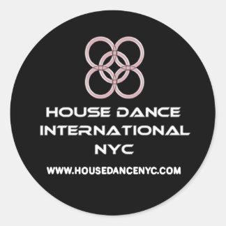 hdi sample round sticker