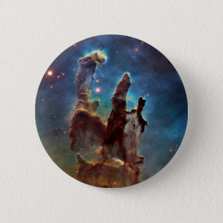 HDR Eagle Nebula Pillars of Creation 2 Inch Round Button