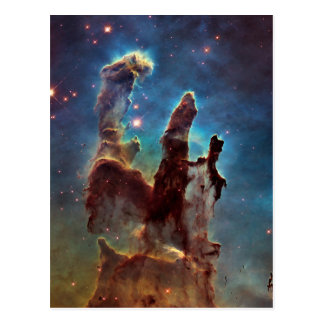 HDR Eagle Nebula Pillars of Creation Postcard