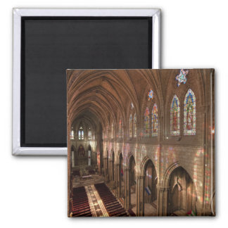HDR image of Basilica interior, Quito, Ecuador Magnet