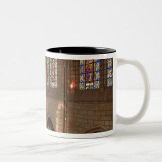HDR image of Basilica interior, Quito, Ecuador Two-Tone Coffee Mug