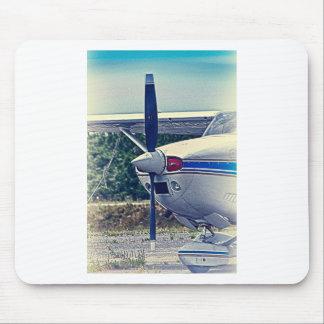 HDR Plane Propeller Closeup Mousepad