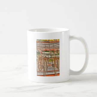 HDR Sailboat Rigging Coffee Mug