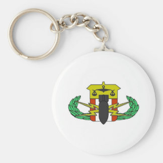 HDT Badge Keychain