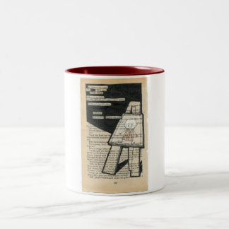 He Climbed the Stairs...The Biscuit Barrel Mug