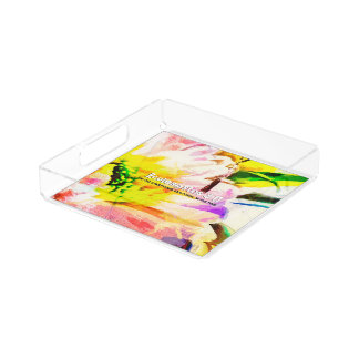 He Did Everything Beautiful In His Time Acrylic Tray