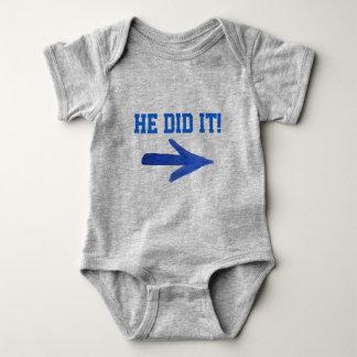 He Did It! tee