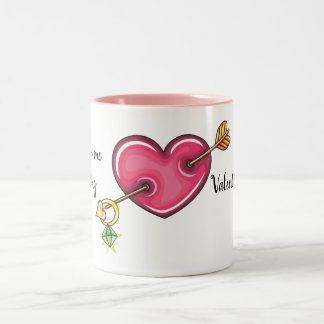 He Gave Me My Ring Two-Tone Coffee Mug