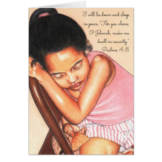 He gives power to the tired one~Scripture Card