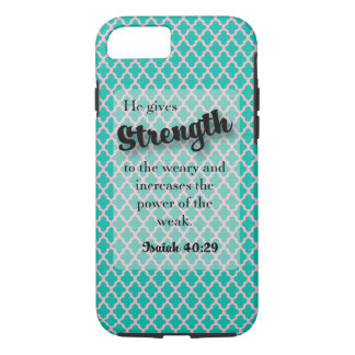 He gives Strength - Isaiah  40:29 Case-Mate iPhone Case