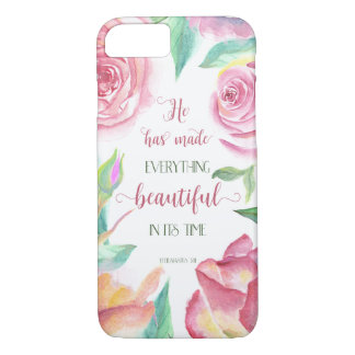 He Has Made Everything Beautiful Ecclesiastes 3:11 iPhone 7 Case