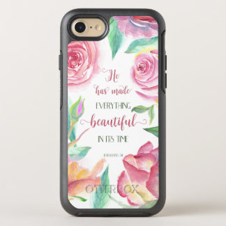 He Has Made Everything Beautiful Ecclesiastes 3:11 OtterBox Symmetry iPhone 8/7 Case