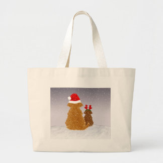 He is Coming at Midnight Large Tote Bag