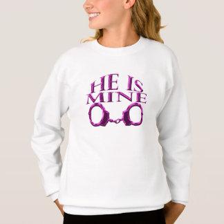 He is mine sweatshirt