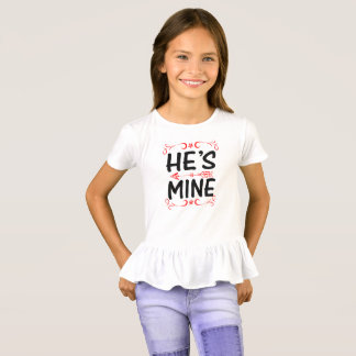 He is Mine T Shirt For Men