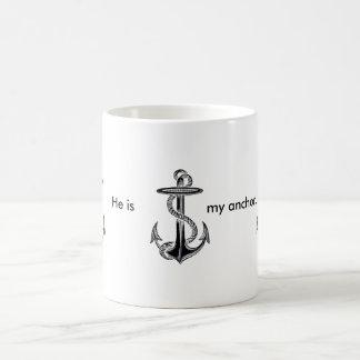He is my anchor morphing magic mug