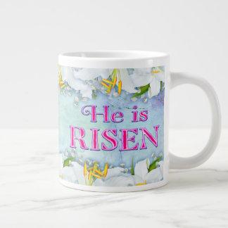 He is RISEN 20 Oz Jumbo Coffee Mug