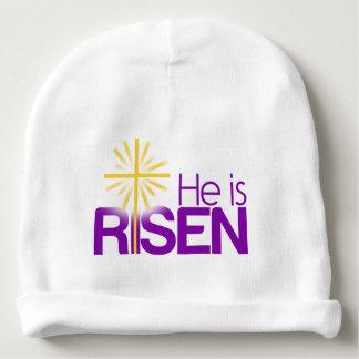 He is risen baby beanie
