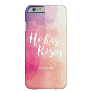 He is risen barely there iPhone 6 case
