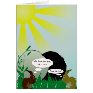 He Is Risen! Christian Easter Greeting Card