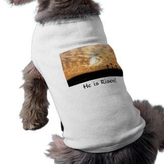 He is Risen! Doggie Shirt