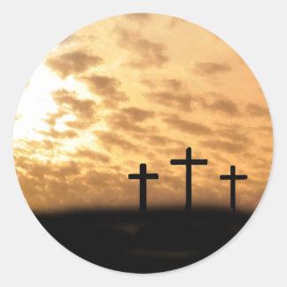 He is Risen! Round Sticker