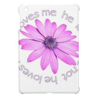 He Loves Me He Loves Me Not iPad Mini Covers