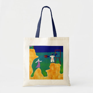 He Made Her Wait Some Time 2000 Tote Bag