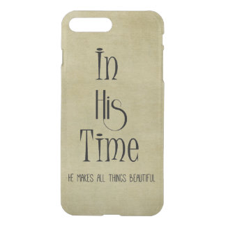 He makes all things beautiful in His Time Verse iPhone 8 Plus/7 Plus Case