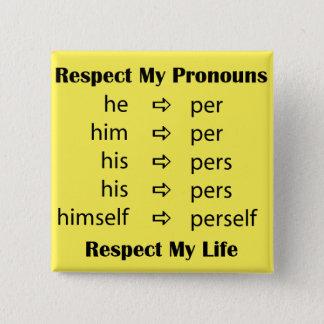 He -> per/person 2 inch square button