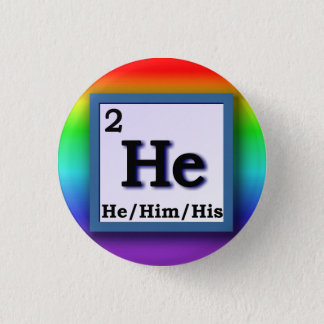 He - Periodic Table personal gender pronoun pin