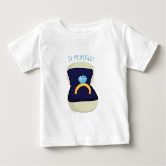 He Proposed! Tshirts