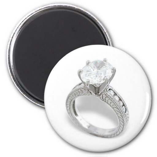He Put A Ring On It/Save the Date Refrigerator Magnets