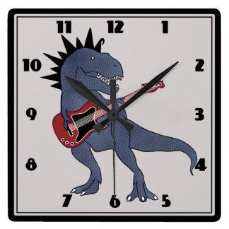 He-Rex Guitar Wall Clock