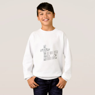 He Was Raised On The Third Day Christian Easter Sweatshirt