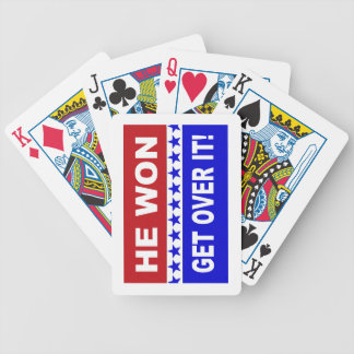 He Won Get Over It! Playing Cards
