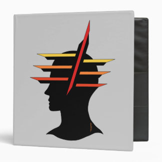 Head Abstract Vinyl Binders