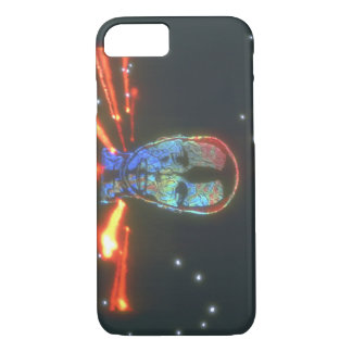 Head and Fire. (head_Space Scenes iPhone 7 Case