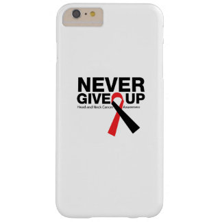 Head and Neck Cancer Awareness Ribbon Fighting Barely There iPhone 6 Plus Case