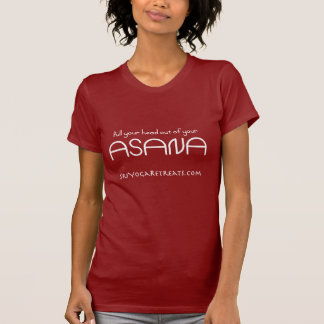 head_asana_white copy 300 T-Shirt