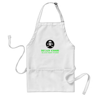 Head Cook Death from Within #2 Standard Apron