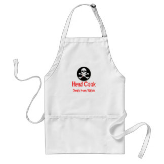 Head Cook Death from Within Standard Apron