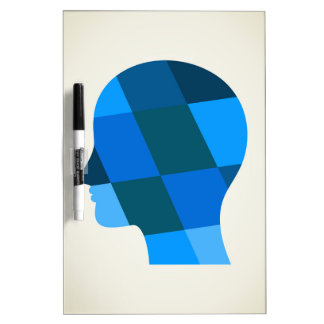 Head Dry Erase Board