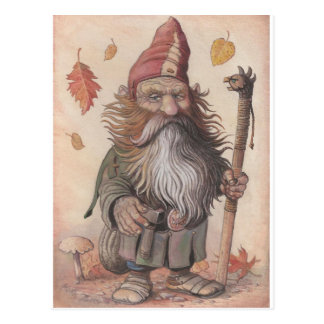 Head Dwarf Postcard