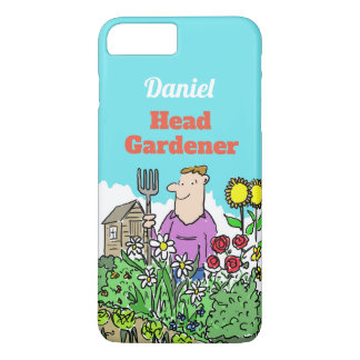 Head Gardener. Add Your Name Choice iPhone 8 Plus/7 Plus Case